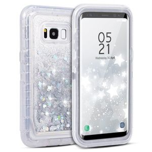 Accessories - Samsung Galaxy Note 9 Liquid Glitter Defender Case